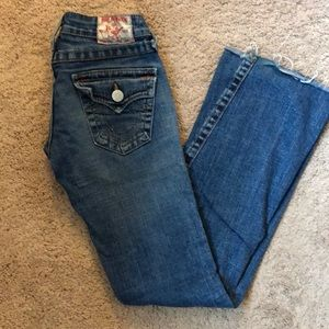 True Religion Joey Jeans Flare 25